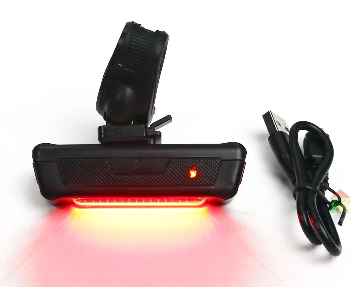 LAMPA TYŁ 16 LED USB - AKCESORIA DO ROWERÓW - NEXELO