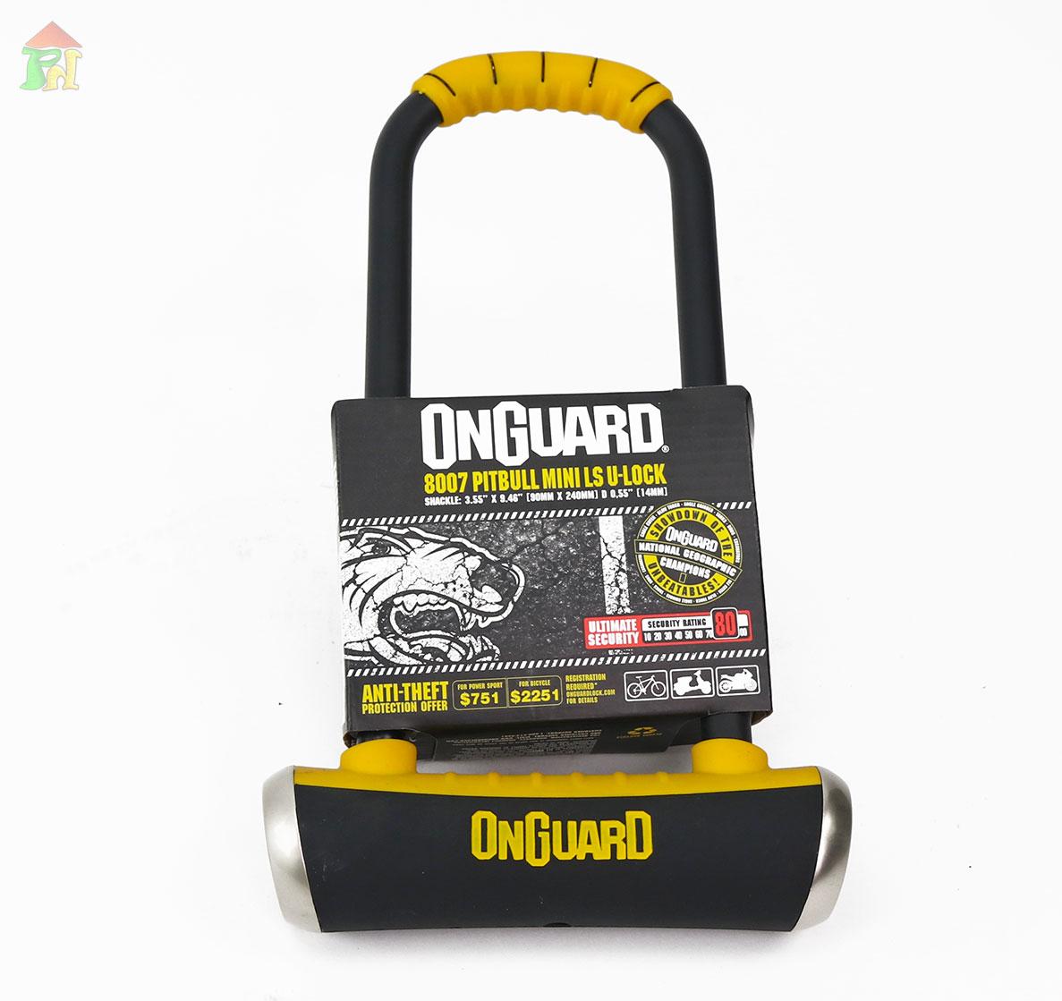 ONGUARD PITBULL LS 8007 U-LOCK